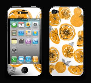 Oranssit appelsiinit tarrakuori IPhone 4/4s