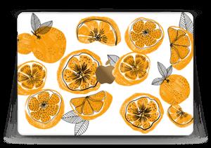 "Piece of Orange Skin MacBook 12"""