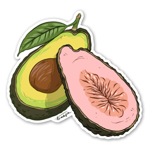 Avovado sticker