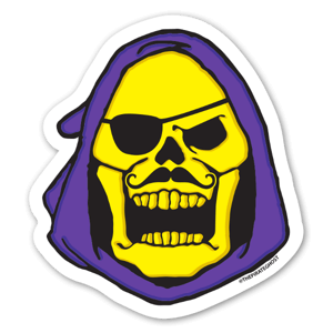 SKELEGHOST sticker