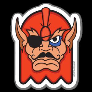 BEASTGHOST sticker