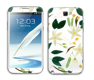 Vanilja tarrakuori Galaxy Note 2