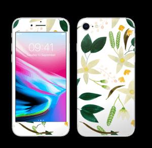 Vanilja tarrakuori IPhone 8
