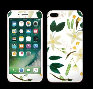 Vanilja tarrakuori IPhone 7 Plus