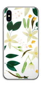 Vanilja tarrakuori IPhone X
