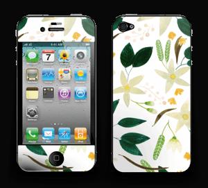 Vanilja tarrakuori IPhone 4/4s