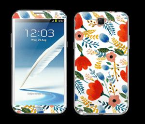 Rosa's flowers tarrakuori Galaxy Note 2