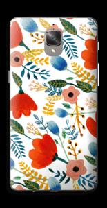 Rosa's Flowers Skin OnePlus 3
