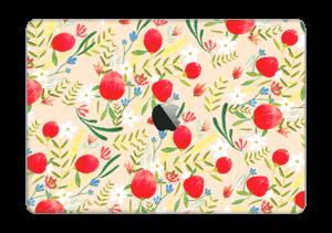 "Flower Fields tarrakuori MacBook Pro 13"" 2016-"