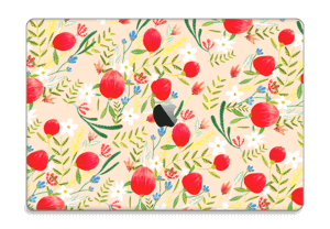 "Flower Fields tarrakuori MacBook Pro 15"" 2016-"