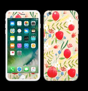 Flower Fields tarrakuori IPhone 6 Plus