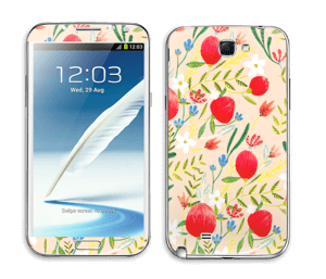 Flower Fields tarrakuori Galaxy Note 2