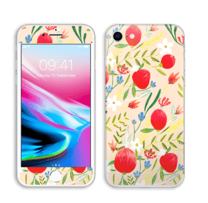 Flower Fields tarrakuori IPhone 8