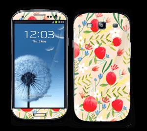 Flower field Skin Galaxy S3