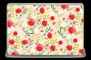 Flower Fields tarrakuori Laptop 15.6