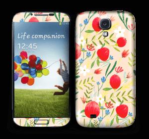 Flower fields Skin Galaxy S4