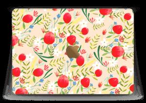 "Flower Fields tarrakuori MacBook 12"""