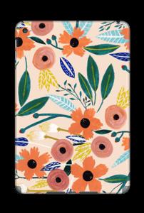 Kesän kukkasia tarrakuori IPad Mini 4