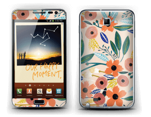 Summer flower mix Skin Galaxy Note