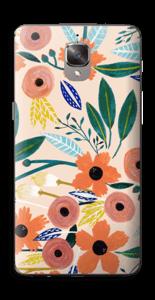 Kesän kukkasia tarrakuori OnePlus 3T