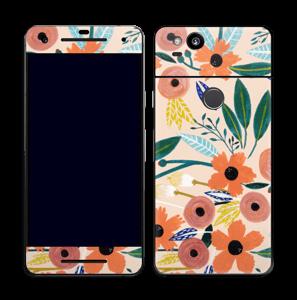 Kesän kukkasia tarrakuori Pixel 2