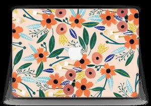 "Kesän kukkasia tarrakuori MacBook Air 13"""