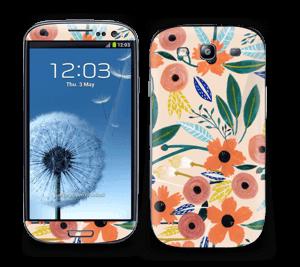 Summer flower mix Skin Galaxy S3