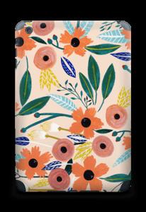 Kesän kukkasia tarrakuori IPad mini 2 back