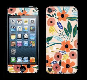 Kesän kukkasia tarrakuori IPod Touch 5th Gen