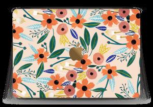 """Kesän kukkasia tarrakuori MacBook 12"""""""