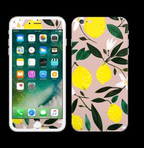 Sitruunat tarrakuori IPhone 6 Plus
