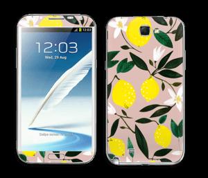 Sitruunat tarrakuori Galaxy Note 2