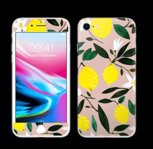 Sitruunat tarrakuori IPhone 8