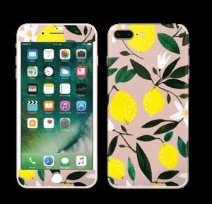 Sitruunat tarrakuori IPhone 7 Plus