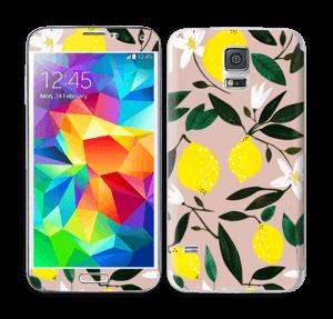 Sitruunat tarrakuori Galaxy S5
