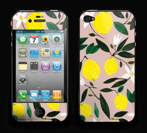 Sitruunat tarrakuori IPhone 4/4s