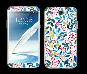 Syksyn sini tarrakuori Galaxy Note 2