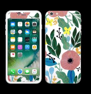 Kukkaunelma tarrakuori IPhone 6 Plus