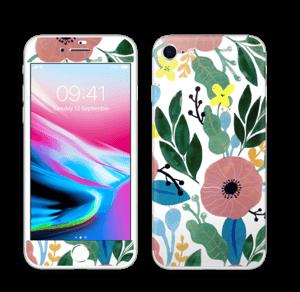 Kukkaunelma tarrakuori IPhone 8
