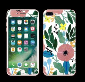 Kukkaunelma tarrakuori IPhone 7 Plus