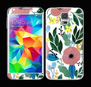 Kukkaunelma tarrakuori Galaxy S5