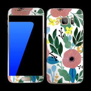 Kukkaunelma tarrakuori Galaxy S7