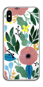Kukkaunelma tarrakuori IPhone X