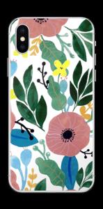 Kukkaunelma tarrakuori IPhone XS