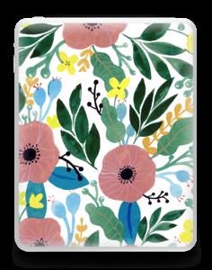 Kukkaunelma tarrakuori IPad 1