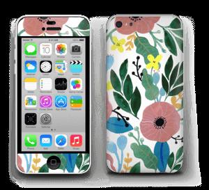 Kukkaunelma tarrakuori IPhone 5c