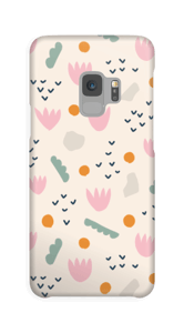 Papirblomst cover Galaxy S9