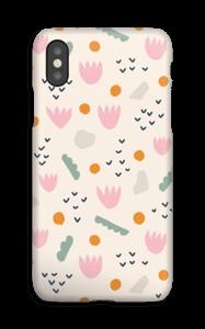 Flores de Papel funda IPhone XS