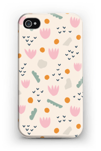 Papirblomst cover IPhone 4/4s