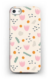 Papirblomst cover IPhone SE